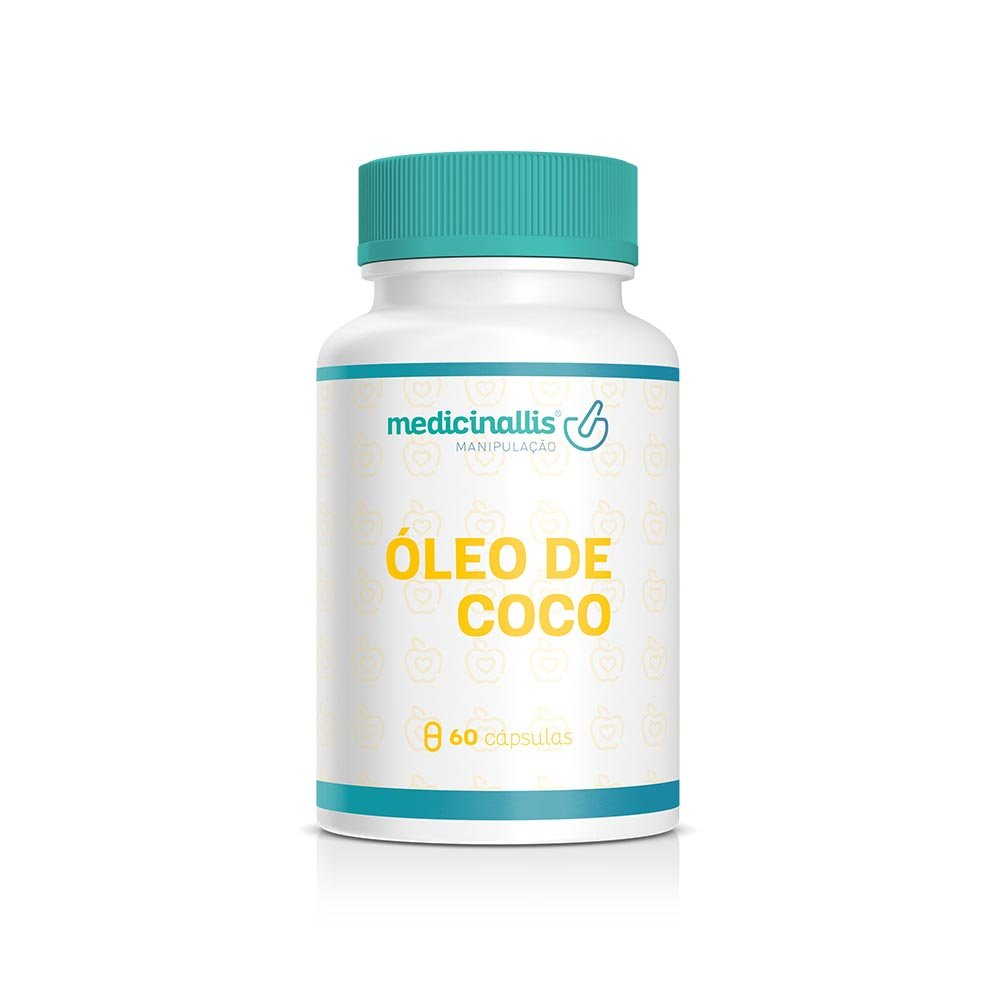 Óleo De Coco 1g 60cáps