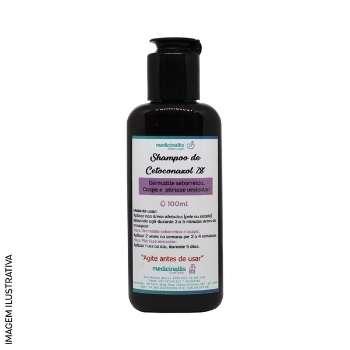 Shampoo Com Cetoconazol 2% 100ml