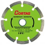 Disco de Corte Diamantado Segmentado 230 mm - Cortag 61619
