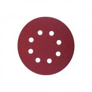 Disco De Lixa Pluma Vermelho 125mm Starfer - kit 10 uni.