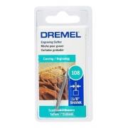 Escariador Para Gravação 108 - 1/8 (3,2mm) - Dremel