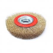 Escova Circular em Aço Latonado 6X3/4