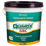 Removedor De Ferrugem Quimox Gel 850gr Quimatic Tapmatic