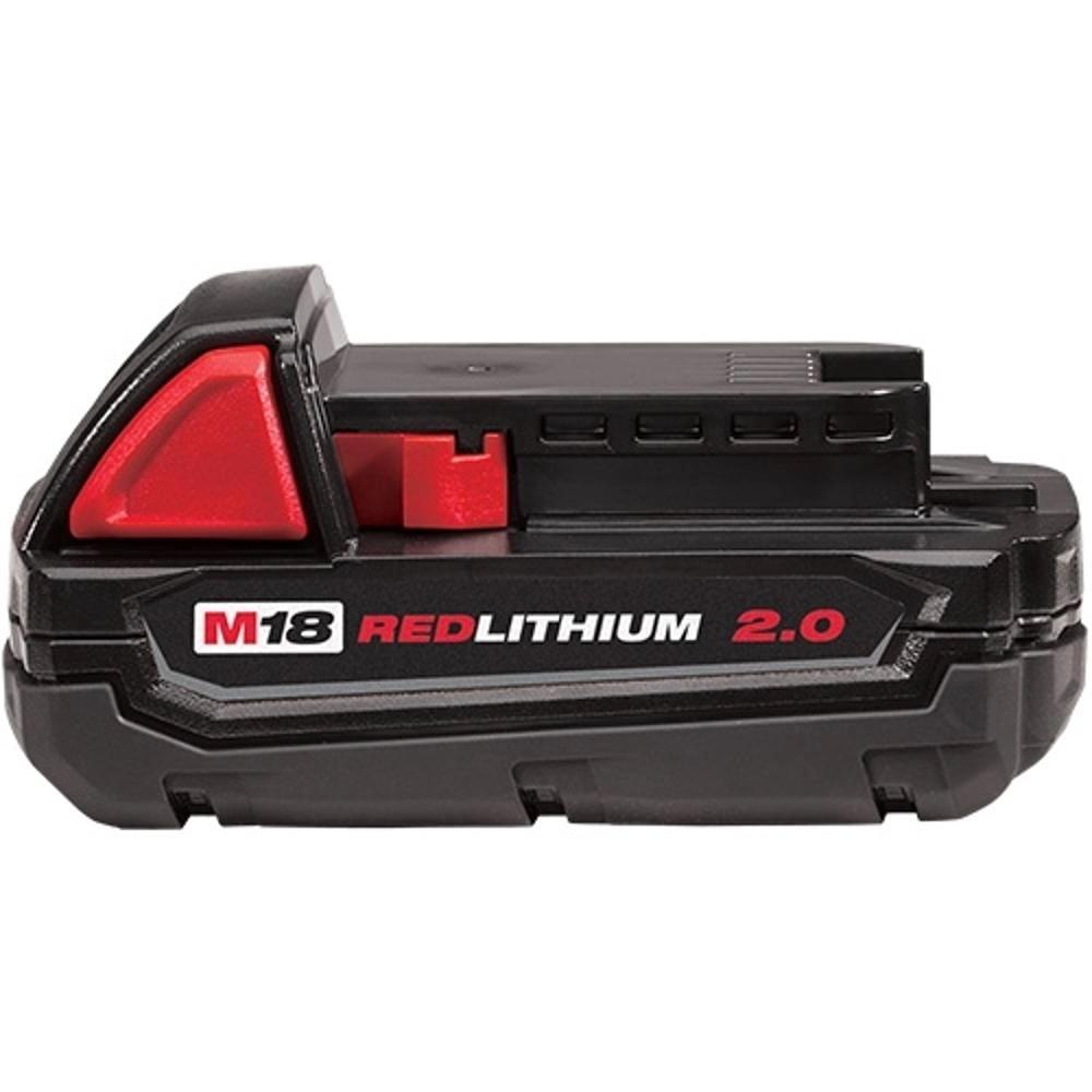 Bateria de Íons de Lítio M18B 2,0Ah 18V Milwaukee 48-11-18