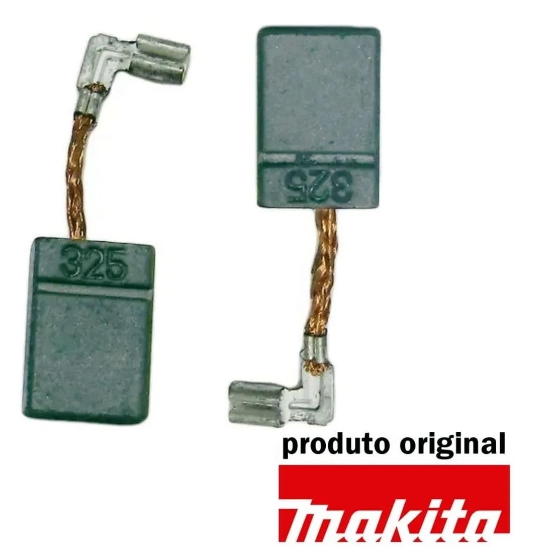 Escova de carvão CB-325 Makita - Esmerilhadeira / Martelete / Retifica