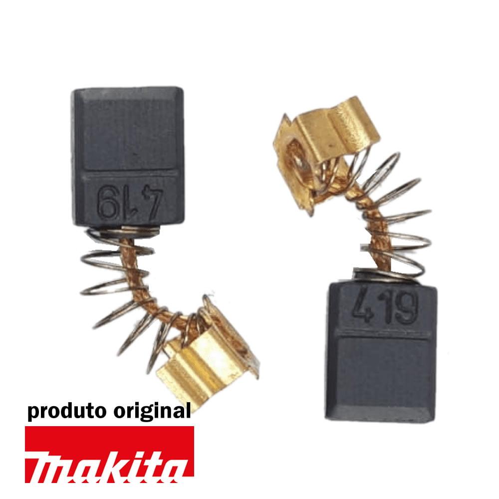 Escova De Carvão CB-419 Original Makita