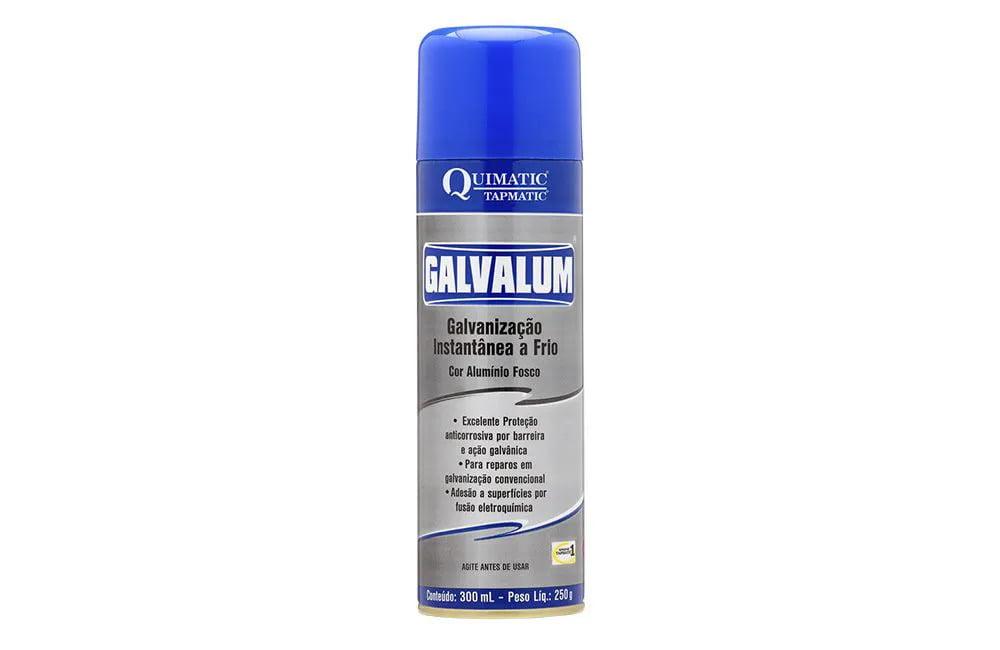 Galvanização Aluminizada a Frio Galvalum Spray 300 ml - Quimatic