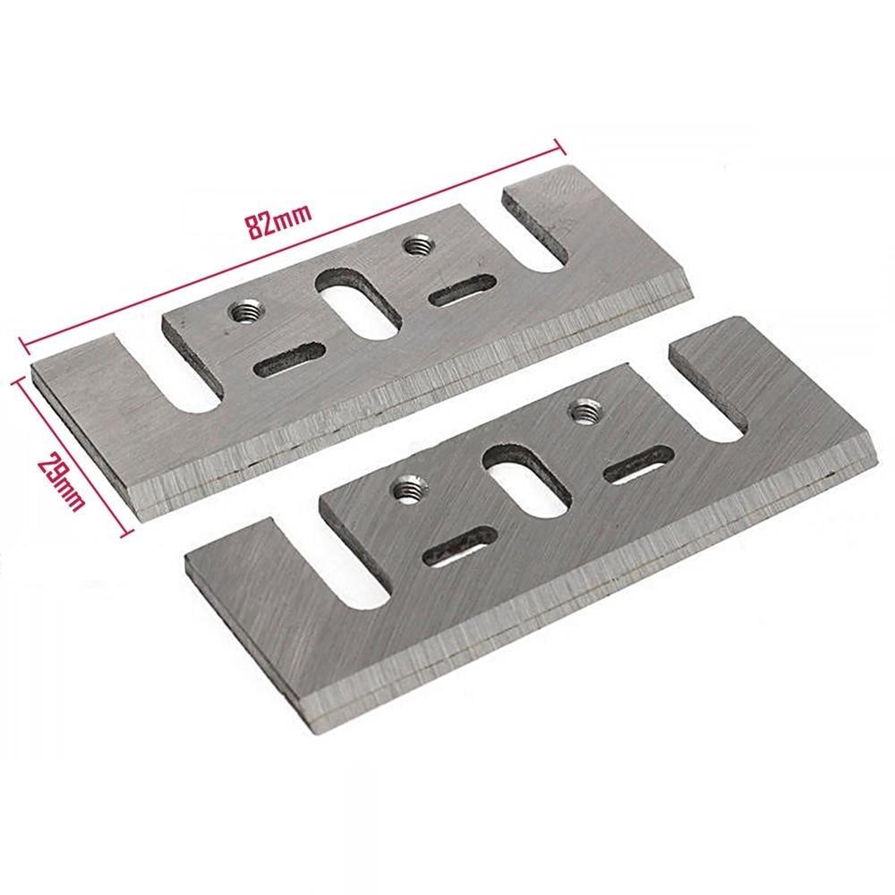 Jogo de Facas de Metal Duro CT para Plaina elétrica Makita