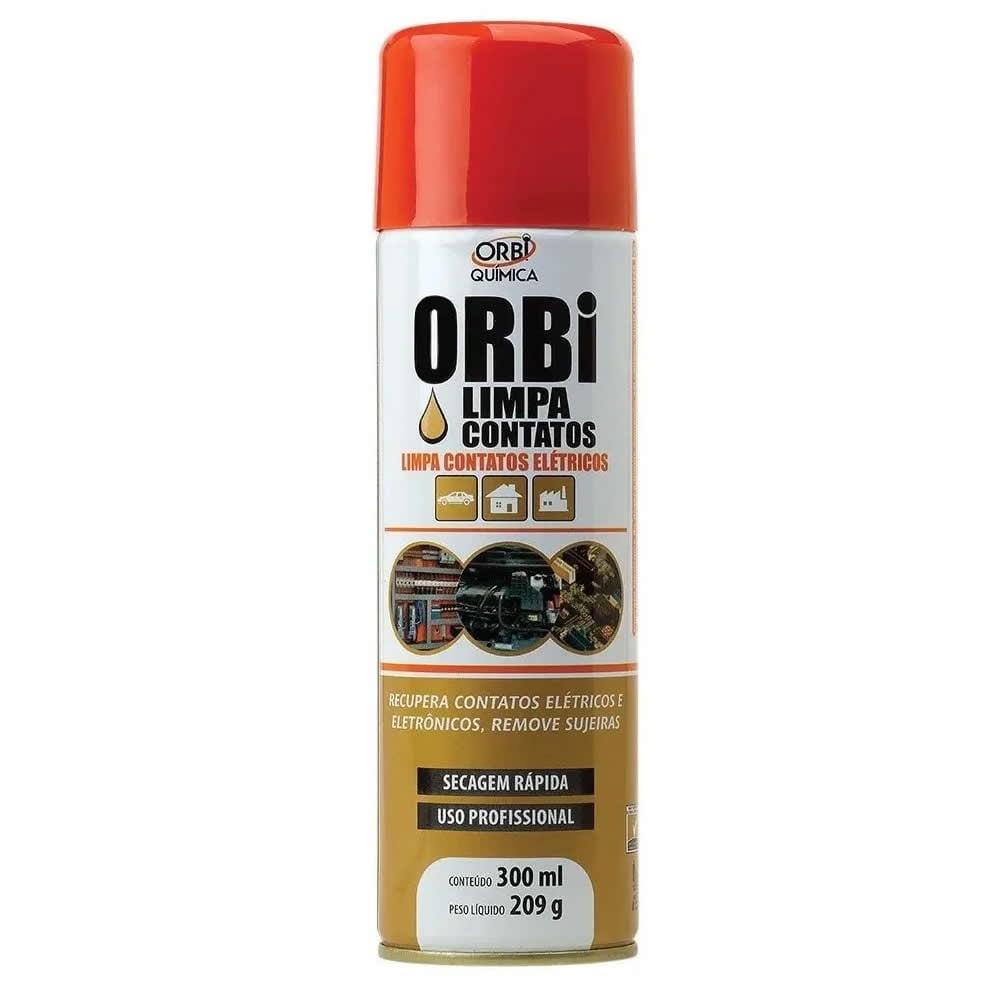 Limpa Contato Elétrico Spray Eletrônico 300ml Orbi VER PRODUTO
