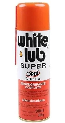 Óleo Desengripante White Lub Spray Super Lubrificante Orbi