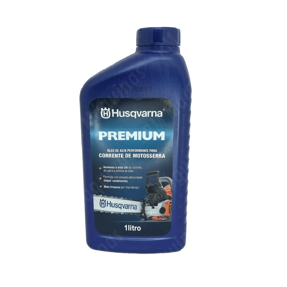 Óleo Para Corrente De Motosserras 1 Litro Husqvarna Premium