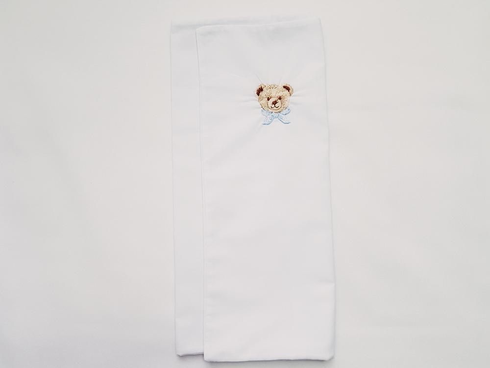 Jogo de Lençol Berço Bordado Encantado em Percal 100% algodão - 3pçs