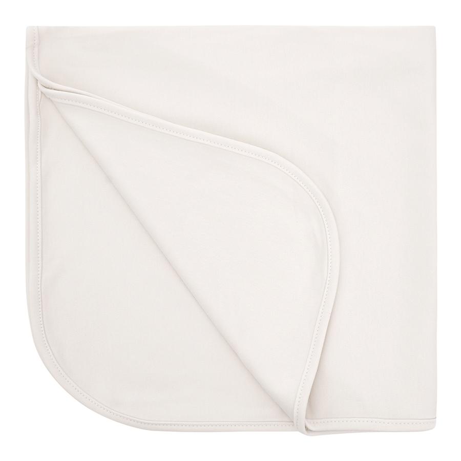 Manta Bebê Suedine Algodão Egípcio Marfim com UV Protection 50+