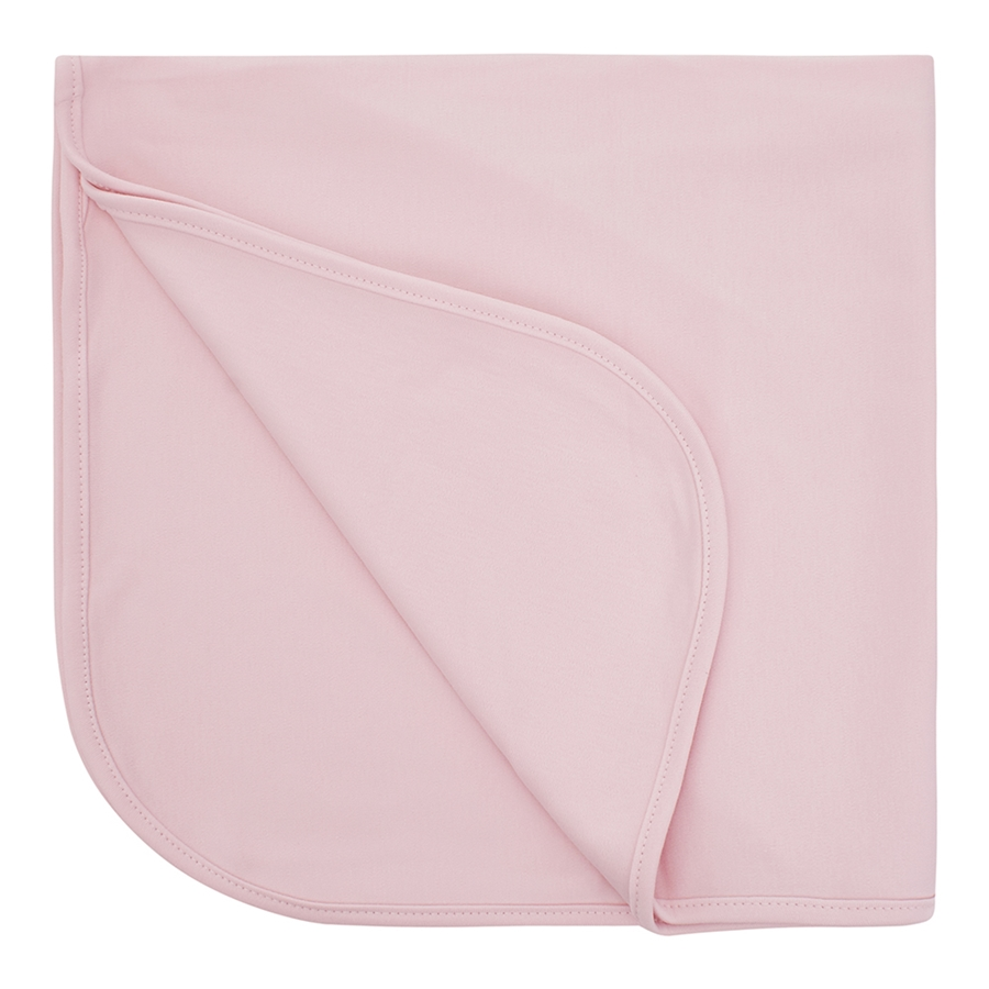 Manta Bebê Suedine Algodão Egípcio Rosa com UV Protection 50+