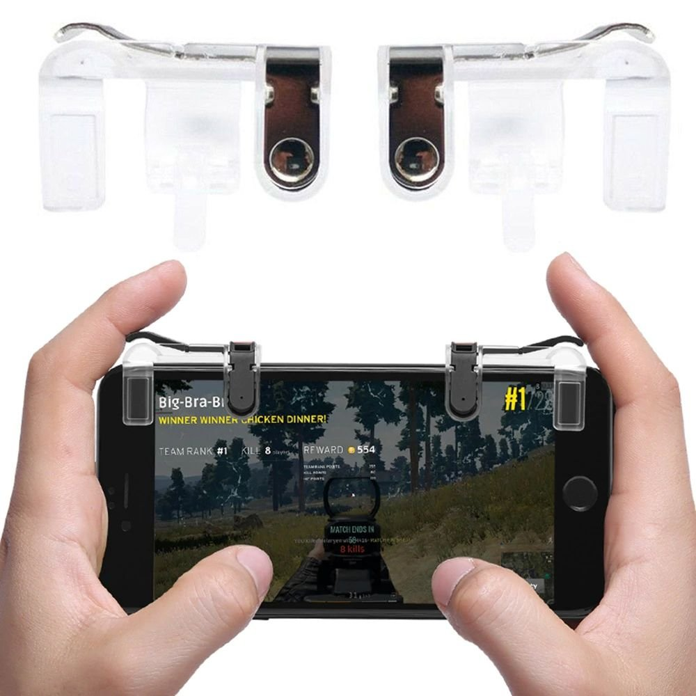 Gatilho Gamer Mobile Fire FPS Smartphone