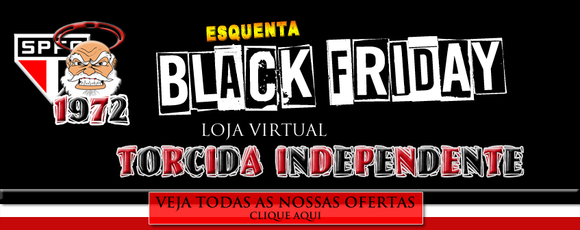 black friday na torcida independente loja virtual