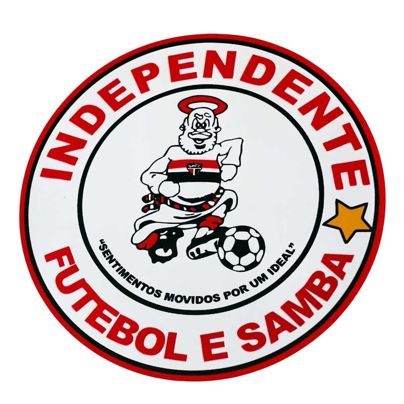 Adesivo Independente Futebol e Samba