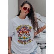 Camiseta Oversized Alucinógenos