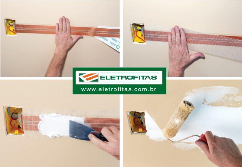 ELETROFITA 5X2 10A DUAS PISTAS EF5X2 (METRO) - ELETROFITAS