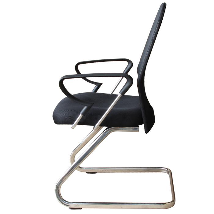 Conjunto com 1 Cadeira Diretor e 2 Cadeiras Interlocutores em Tela Mesh PEL-6052/PEL-8036 Pretas