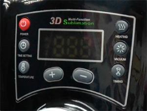 Prensa Térmica para Sublimação 3D Mini à Vácuo