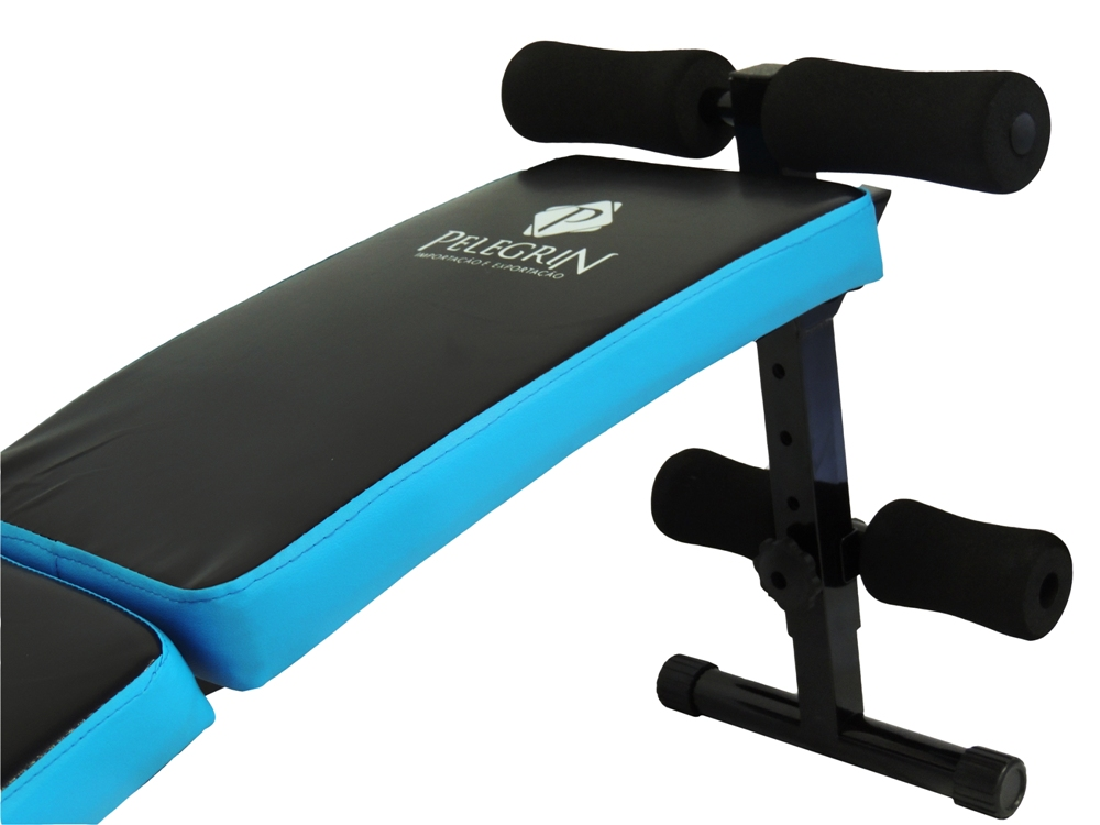 Prancha Abdominal Dobrável Sit-Up Bench