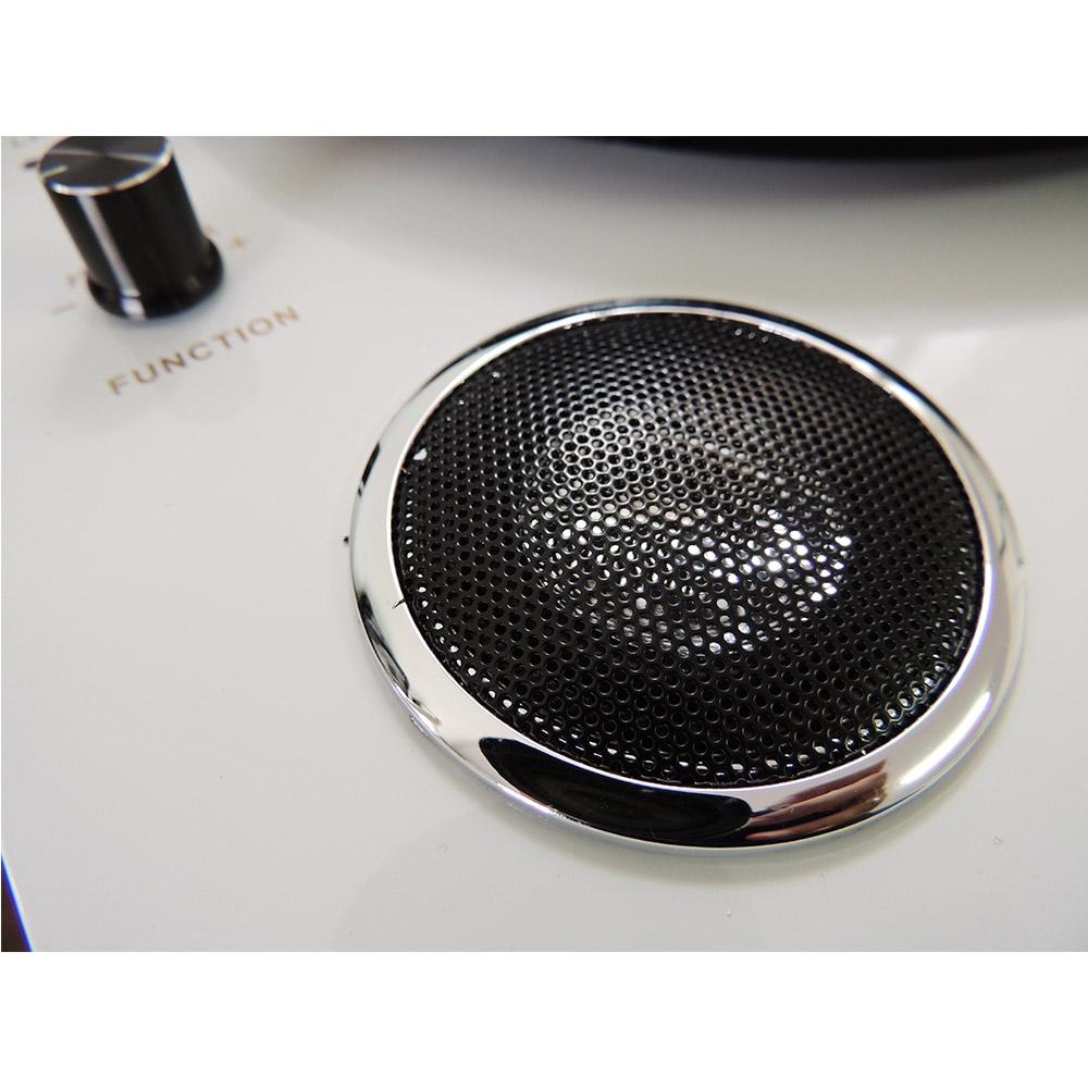 Toca Discos PEL-103A Vinil com Bluetooth e Alto Falantes Internos