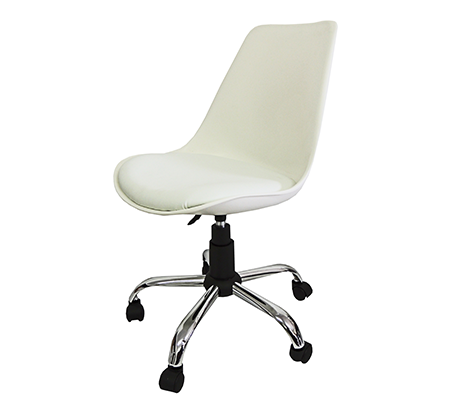 Cadeira em ABS PEL-C032A Colors com Design Eames DKR Office