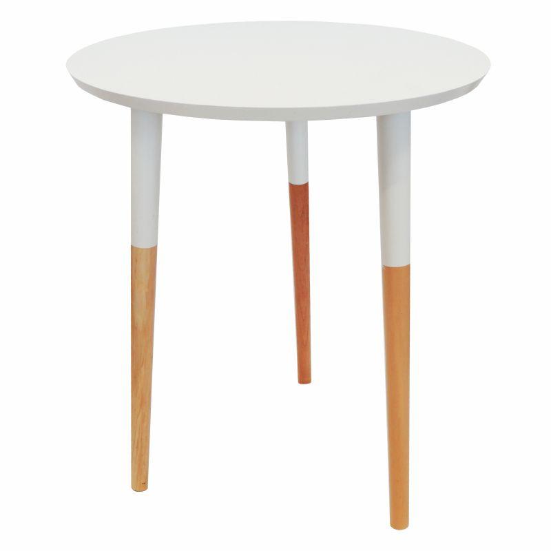 Conjunto Cadeira em ABS com Braços PW-082 e Mesa Coffe Eiffel Wood