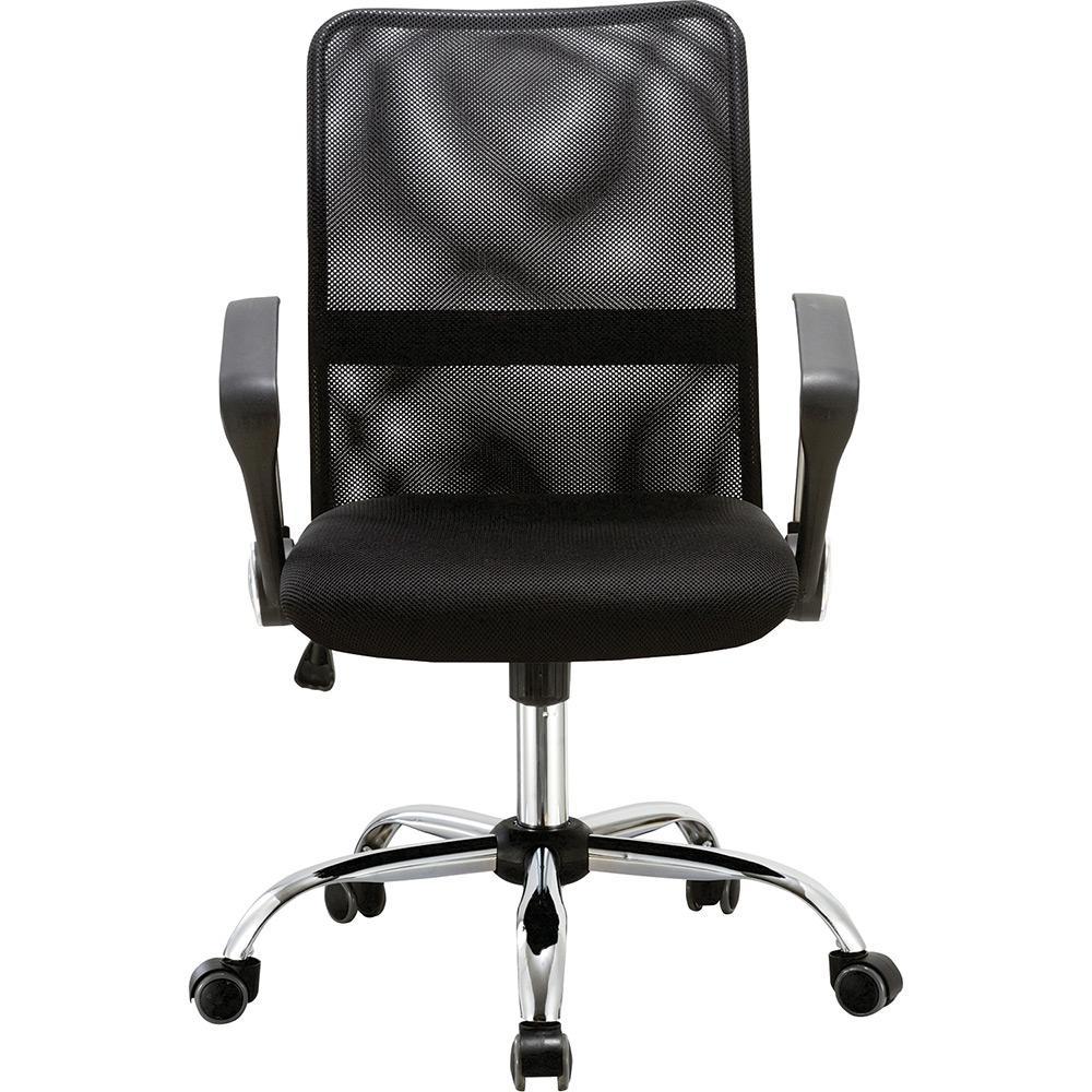 Cadeira Executiva Pelegrin Pel-501 Giratória com Regulagem de Altura a Gás Preto