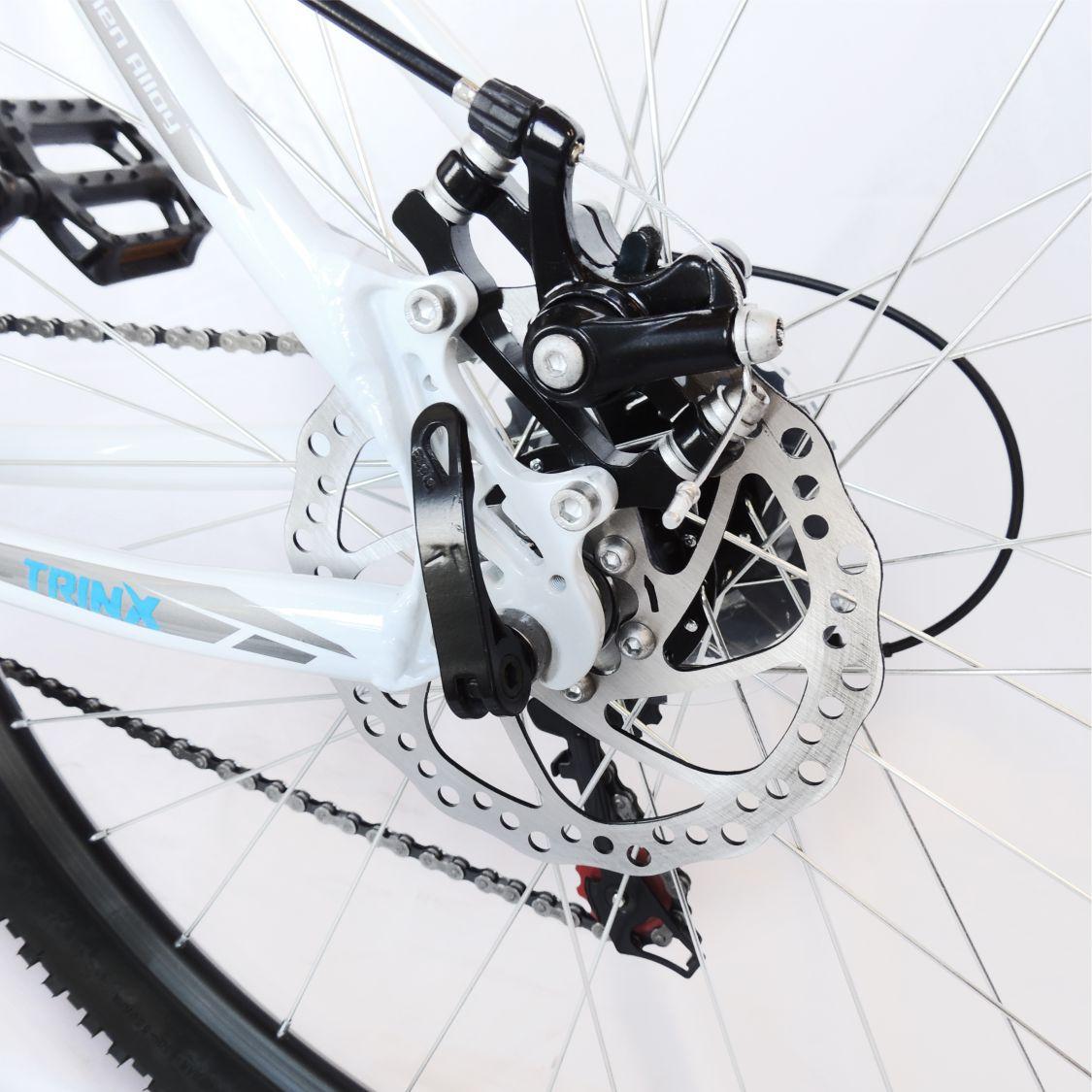 Bicicleta Trinx Obstale 2.0 Aro 29 Freio/DISC Susp 21V Kit Shimano Branco com Cinza