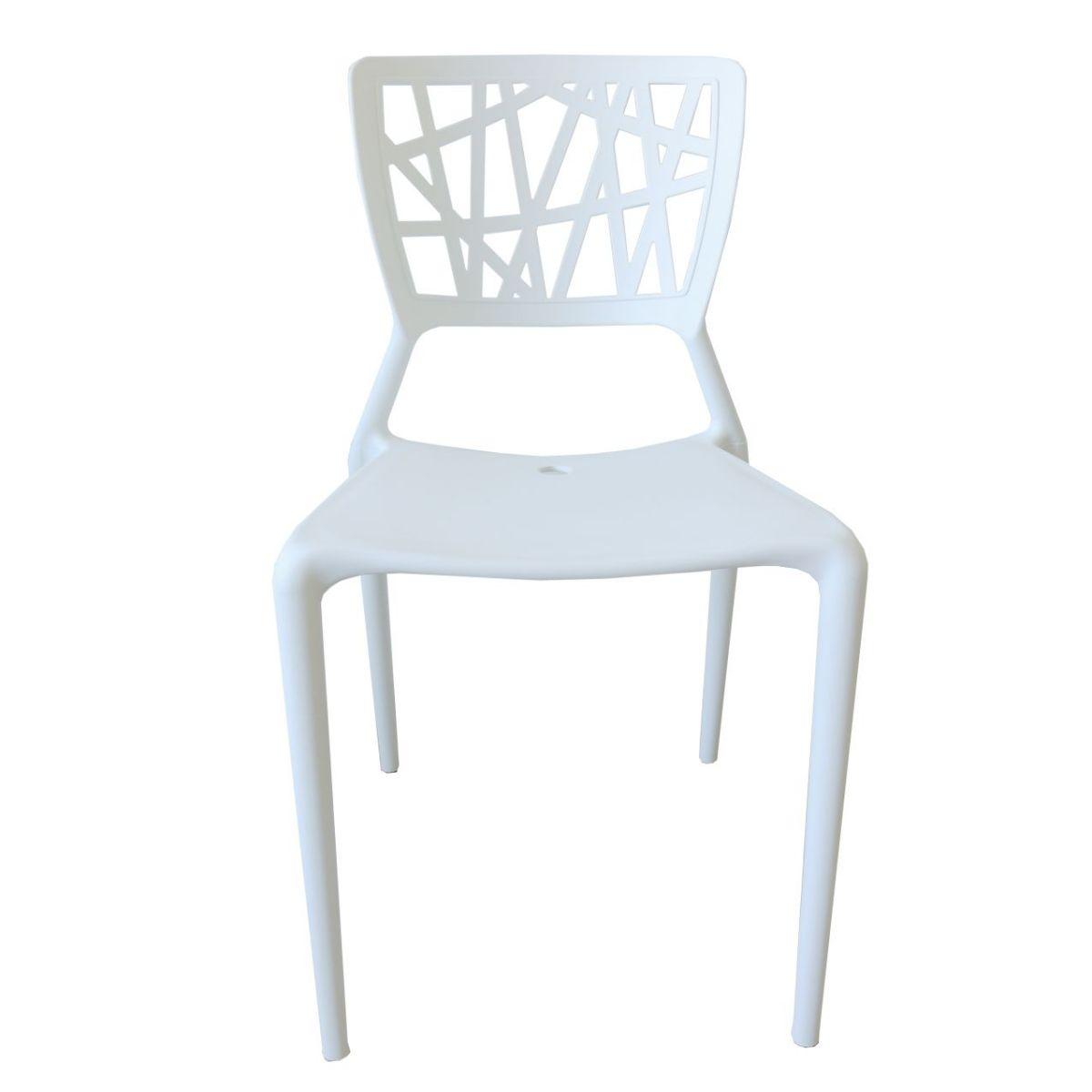 Cadeira Fixa Design Melissa Pelegrin PEL 1193