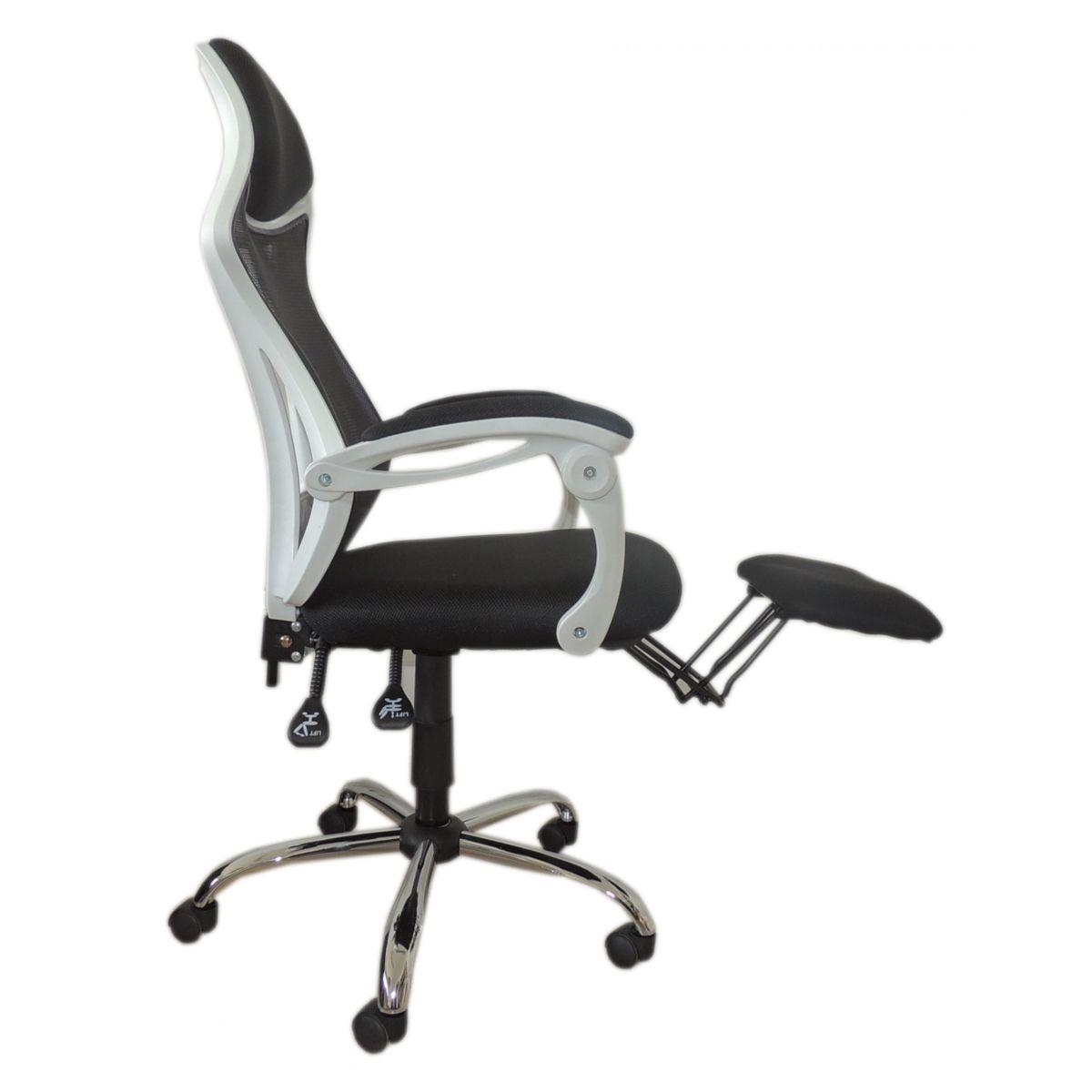 Cadeira Presidente Confort em Tela Mesh Pelegrin C343