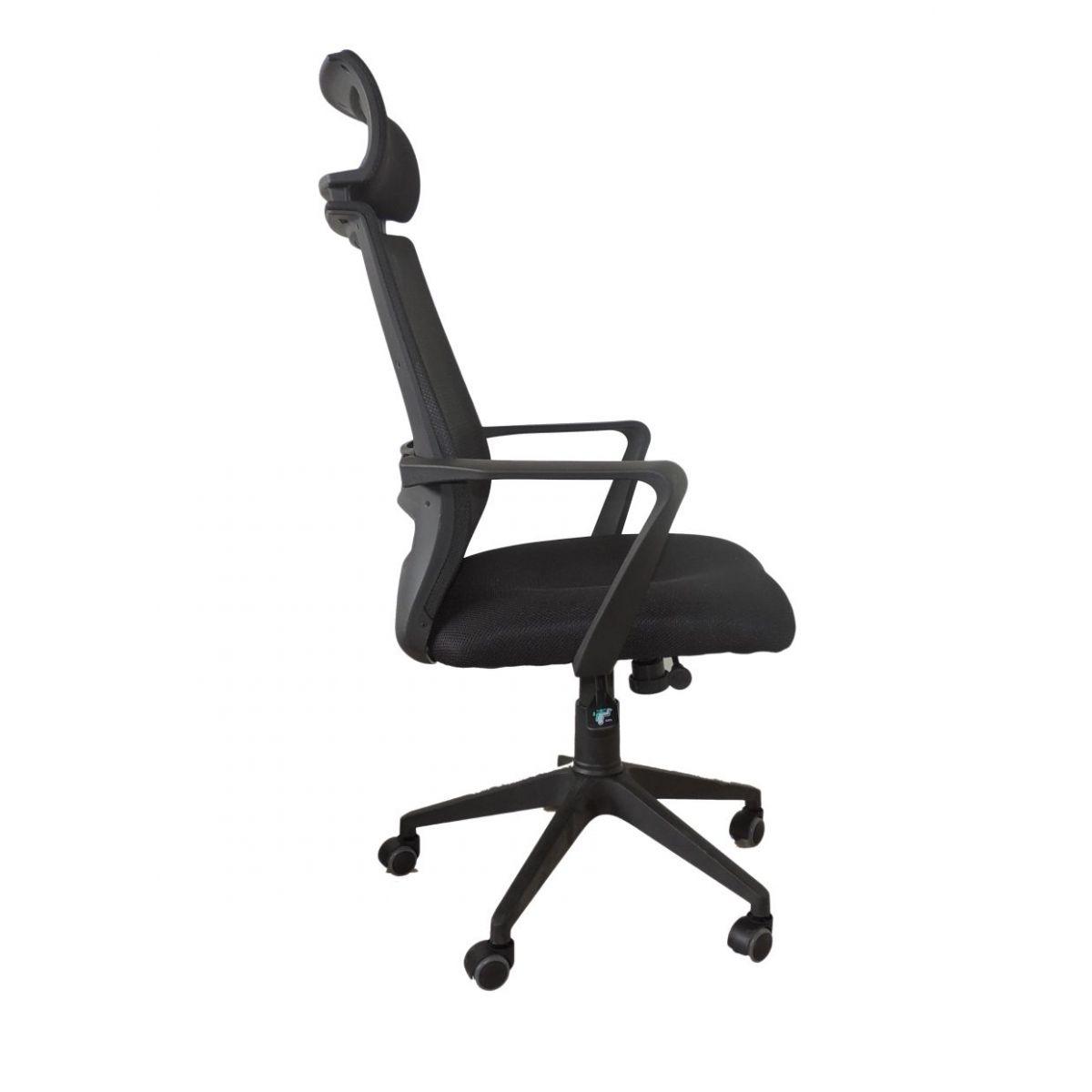 Cadeira Presidente Giratória Em Tela Mesh Pelegrin PEL-493