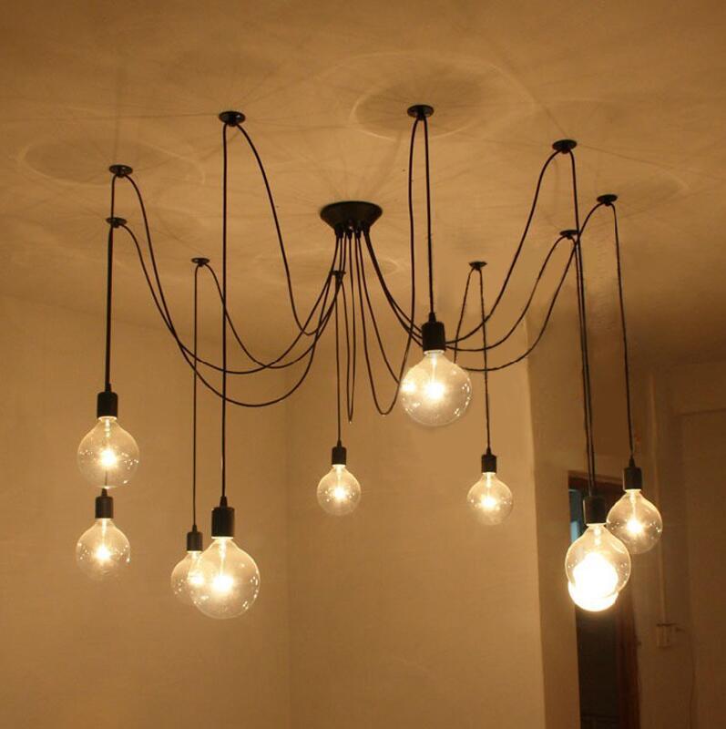 Luminária Pendente Retro Cascata De Luz Industrial Pelegrin PEL-030