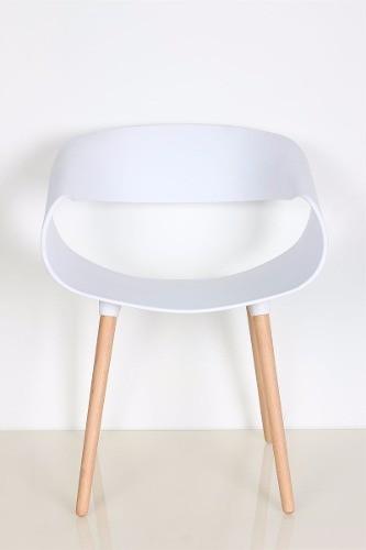 Kit 6 Poltronas Design Charles Eames Branca Mesa Café Grátis