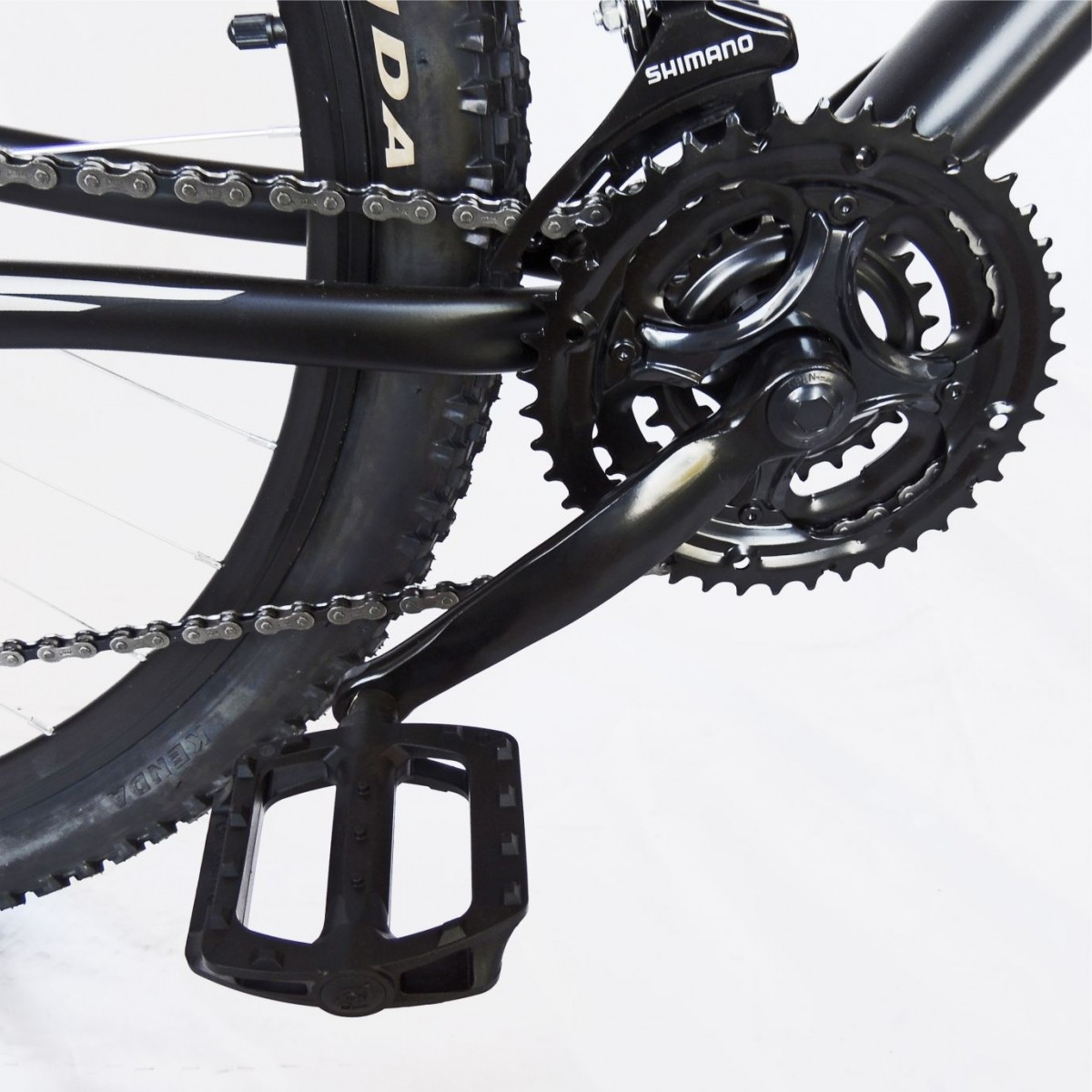 Bicicleta Trinx Obstale 2.0 Aro 29 Freio/DISC Susp 21V Kit Shimano Preto com Cinza