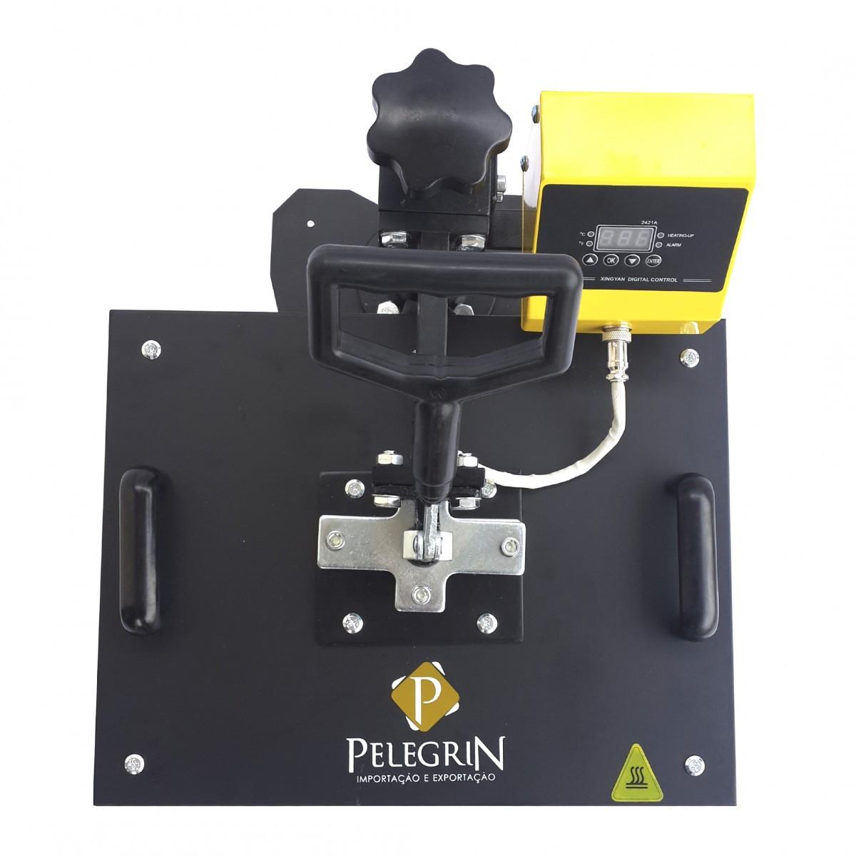 Prensa Térmica para Sublimação 8 em 1 XY-012 Pelegrin 220V
