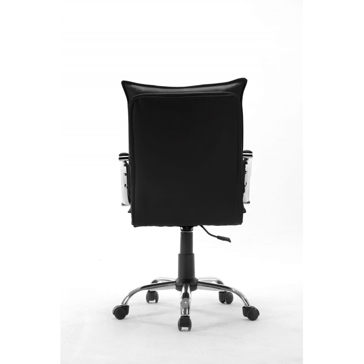Cadeira Diretor em Couro PU Preta Pelegrin PEL-280
