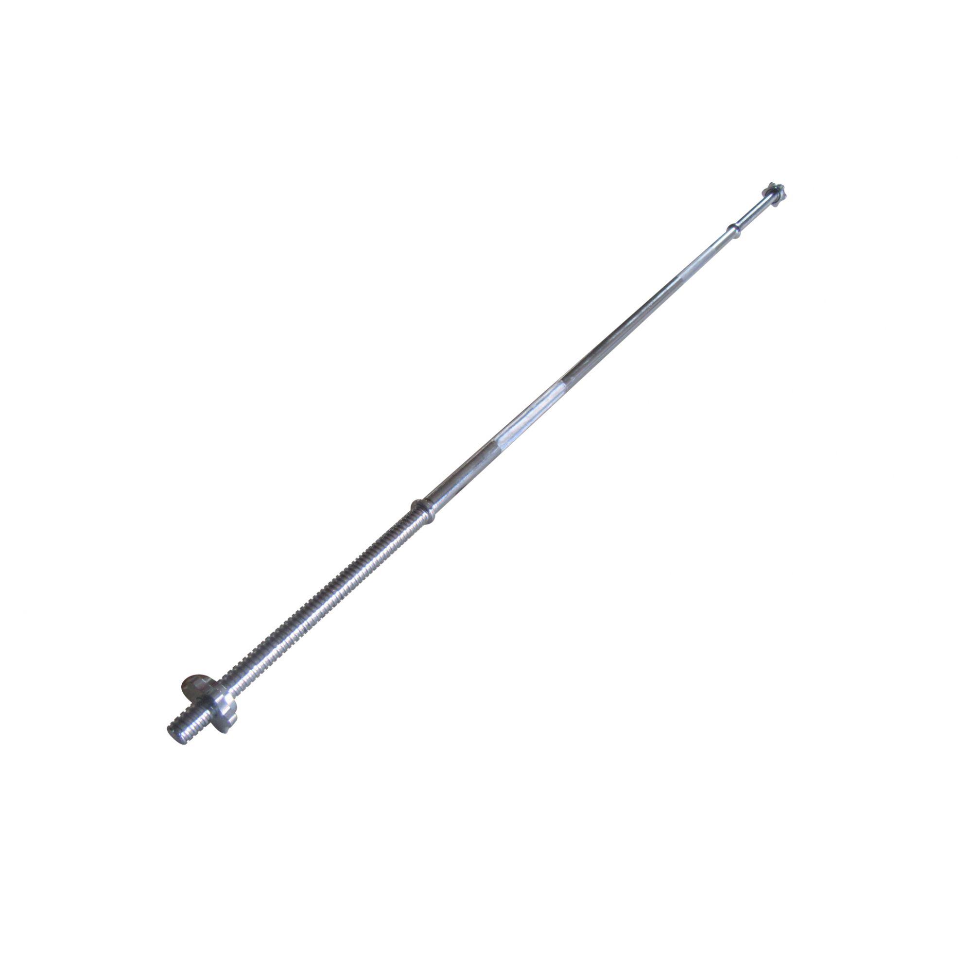 Barra Reta em Aço Maciço para Musculação Pelegrin PEL-218B 2,18m
