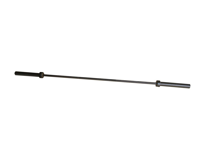 Barra Reta em Aço Maciço para Musculação Pelegrin PEL-317O Olímpica 2,00m Preta