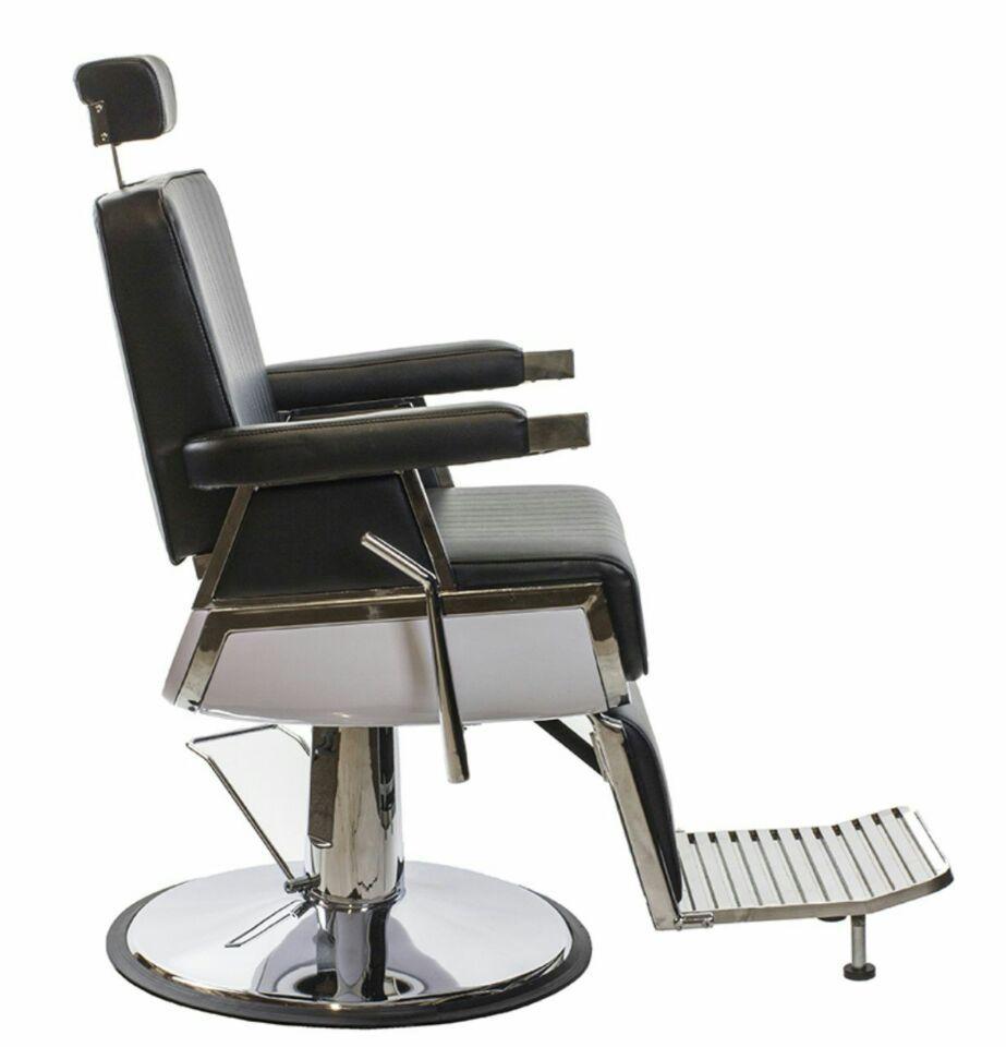 Cadeira de Barbeiro Reclinável Pelegrin PEL-038a