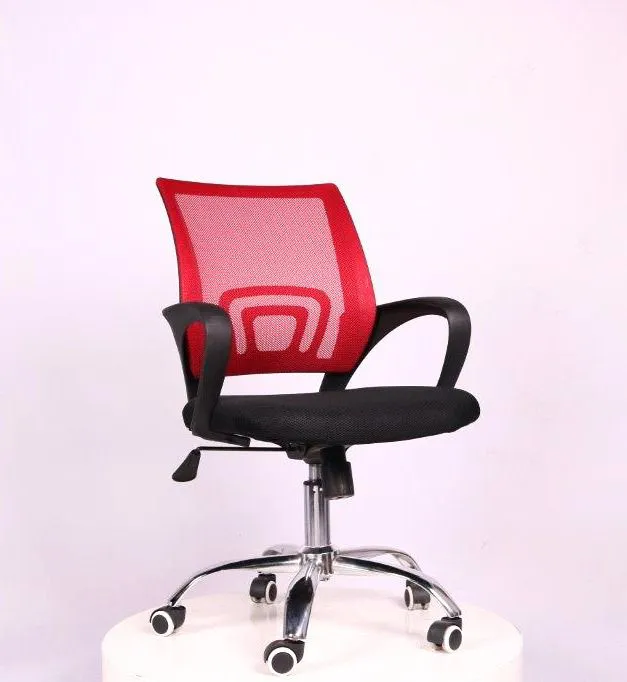 Cadeira de Escritório Diretor PEL-CR11 Preta e Vermelha - 91199