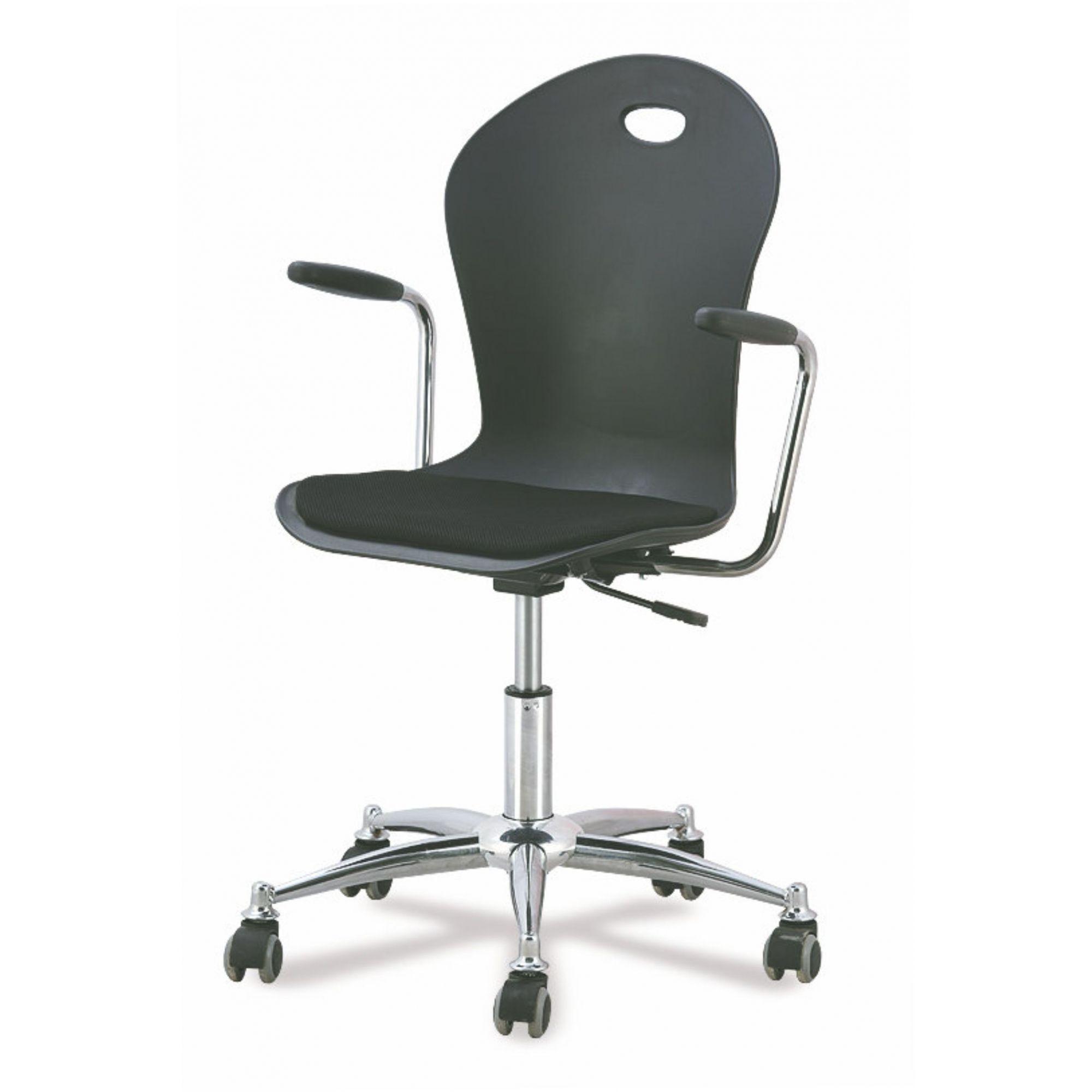 Cadeira de Escritório Diretor Pelegrin PEL-1103H Preta