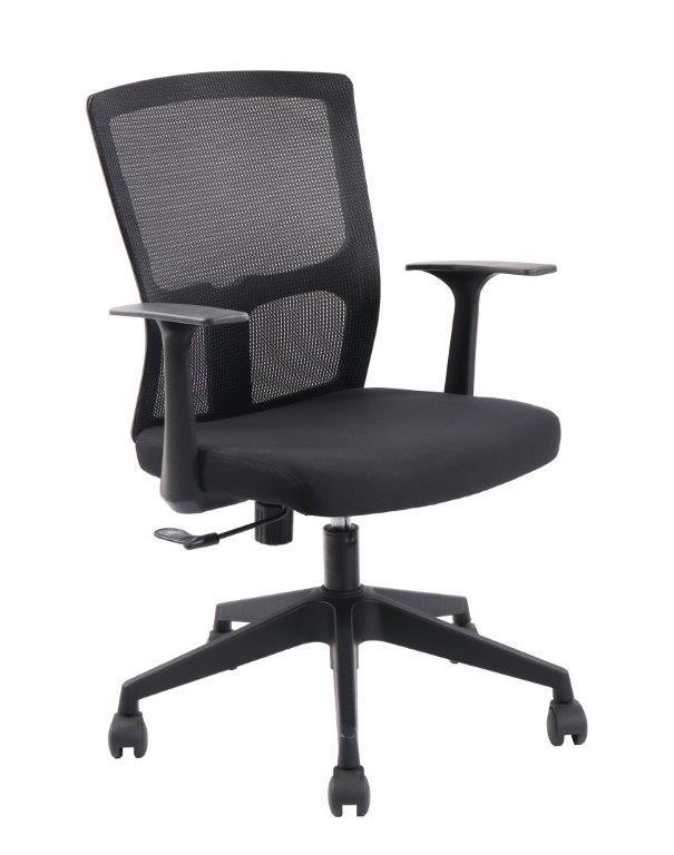 Cadeira de Escritório Diretor Pelegrin PEL-3801 Tela Mash Giratória Preta