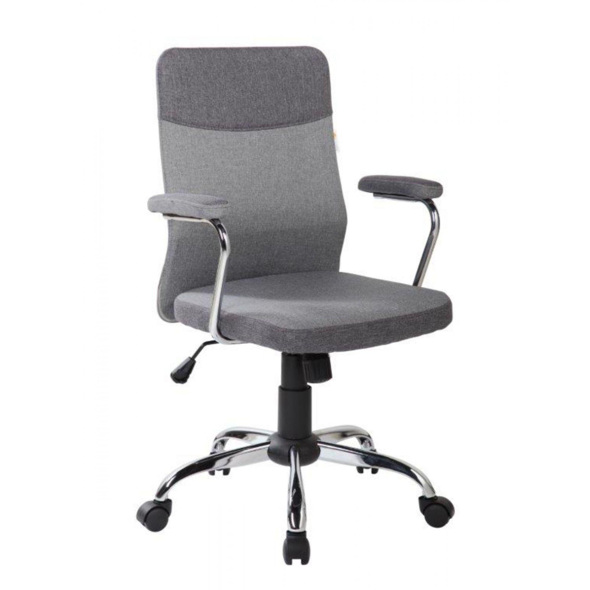 Cadeira de Escritório Diretor Pelegrin Pel-9026 Cinza