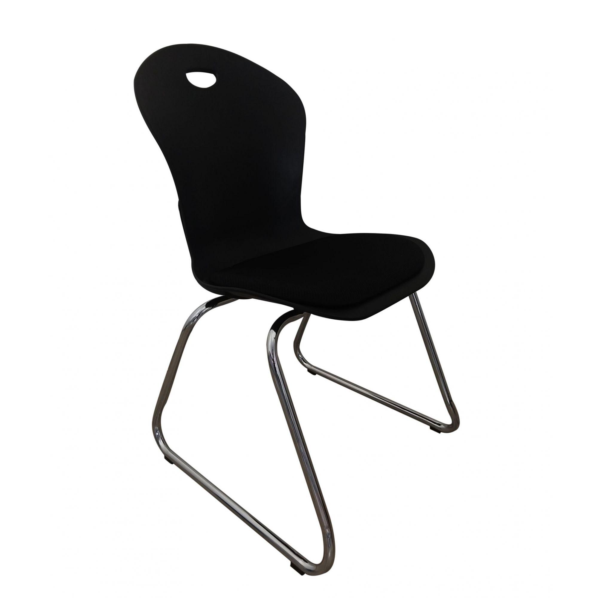 Cadeira de Escritório interlocutor Pelegrin PEL-1103V Preta