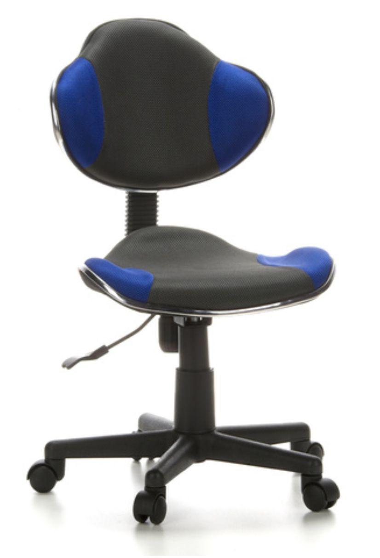 Cadeira de Escritório Secretaria Pelegrin PEL-S653 Azul