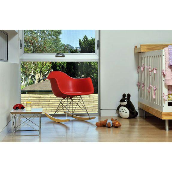 Cadeira Design Eames Vermelha de Balanço - Orb