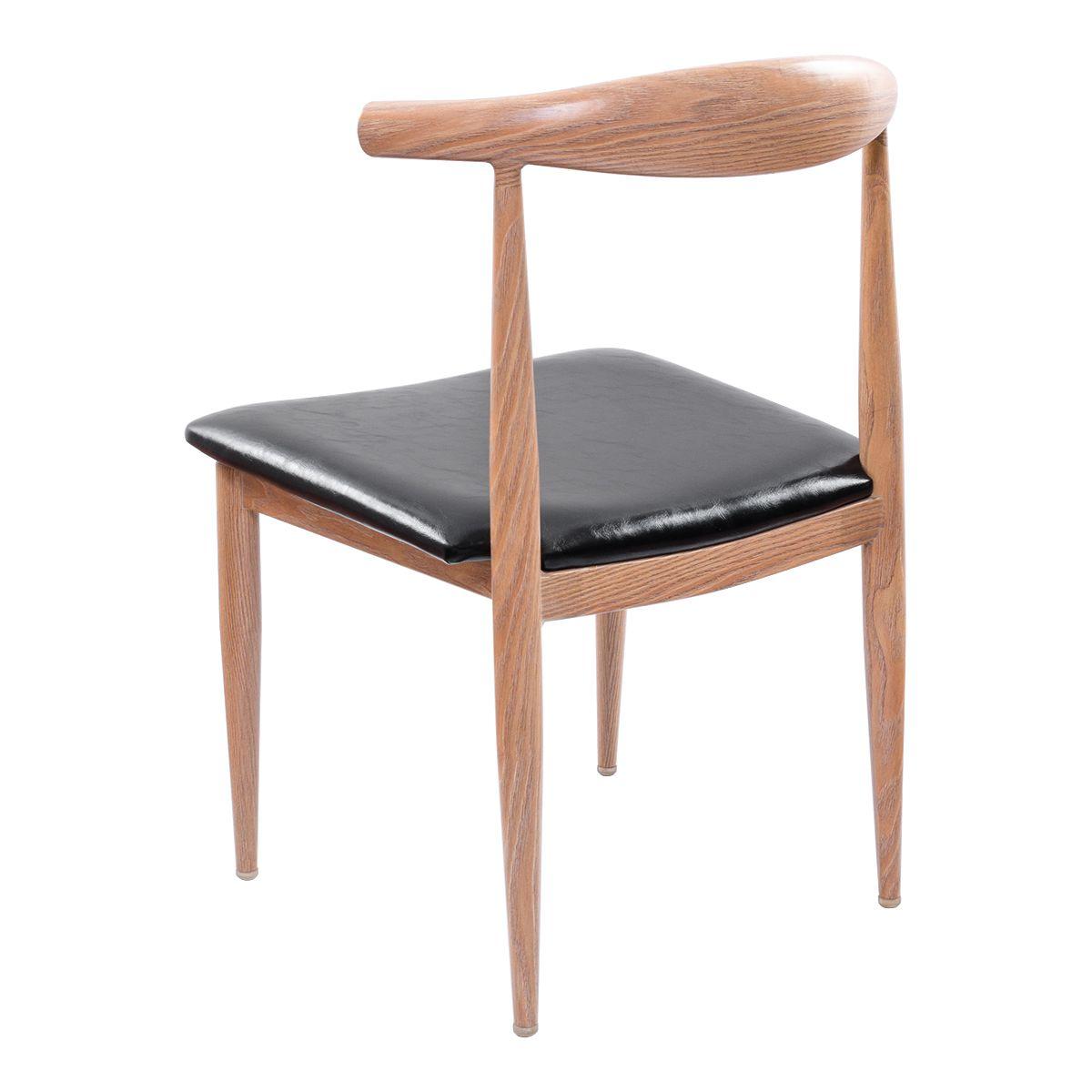 Cadeira Design Pelegrin PEL-1522 Bege e Preta